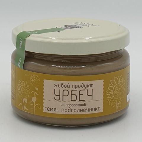Урбеч из проростков семян подсолнечника ЖИВОЙ ПРОДУКТ, 225 гр