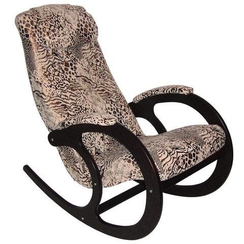 Кресло-качалка Блюз-2, МИ венге, леопард