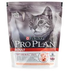 Корм сухой для взрослых кошек Pro Plan с лососем 400г