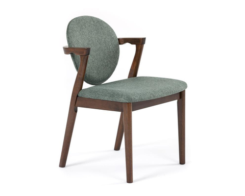 Обеденное кресло Muar из массива гевеи