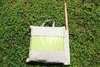 Гамак кресло из льна с поролоновыми вставками салатовый RGK4SAL