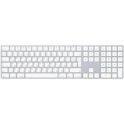 Apple Magic Keyboard с цифровой панелью серебристый