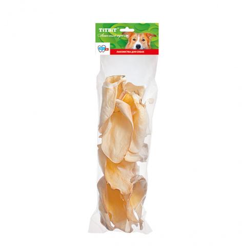 Titbit Ухо телячье BIG - мягкая упаковка