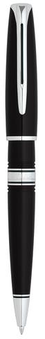 *Шариковая ручка Waterman Charleston, цвет: Black/CT, стержень: Mblue123