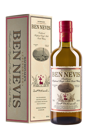 Macdonald`s Celebrated Ben Nevis Traditional