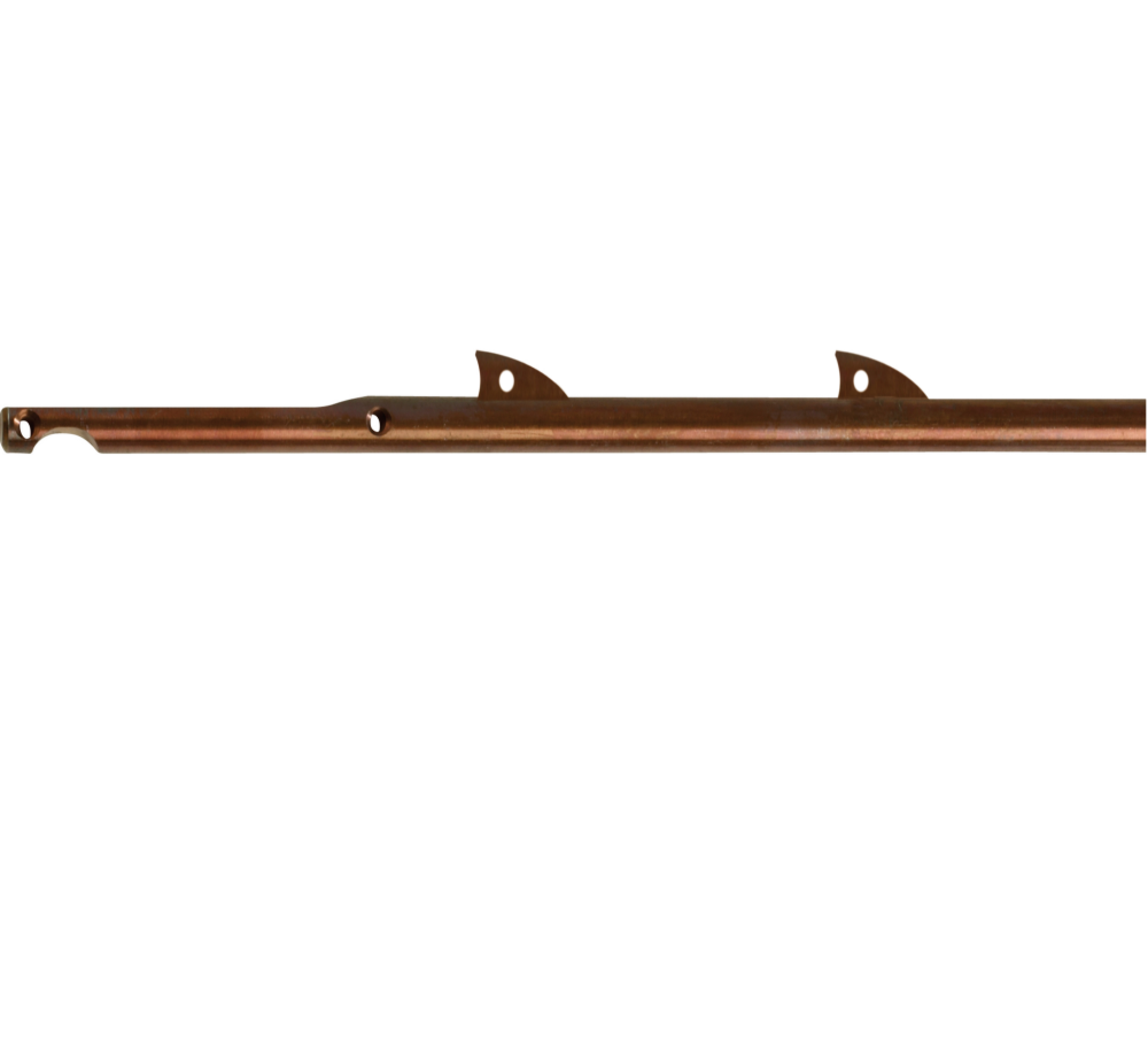 Inox Shaft with fins for Cressi Cherokee Open speargun
