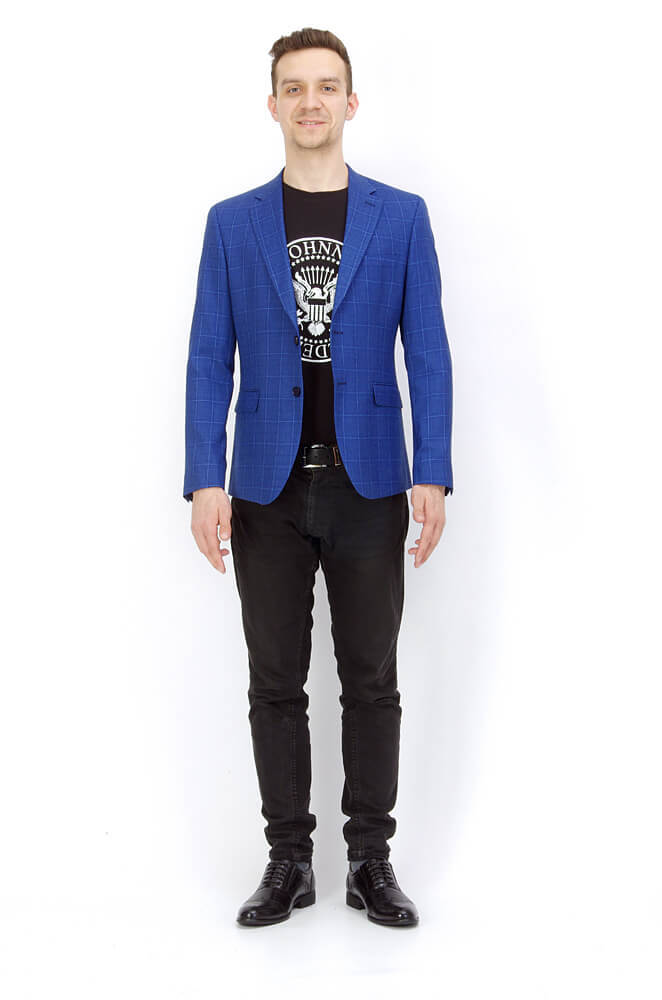 Пиджаки Slim fit ANTONIO ROSSI / Пиджак slim fit IMGP8966.jpg