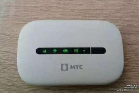 Huawei E5330/МТС 424d 3G/Wi-Fi мобильный роутер