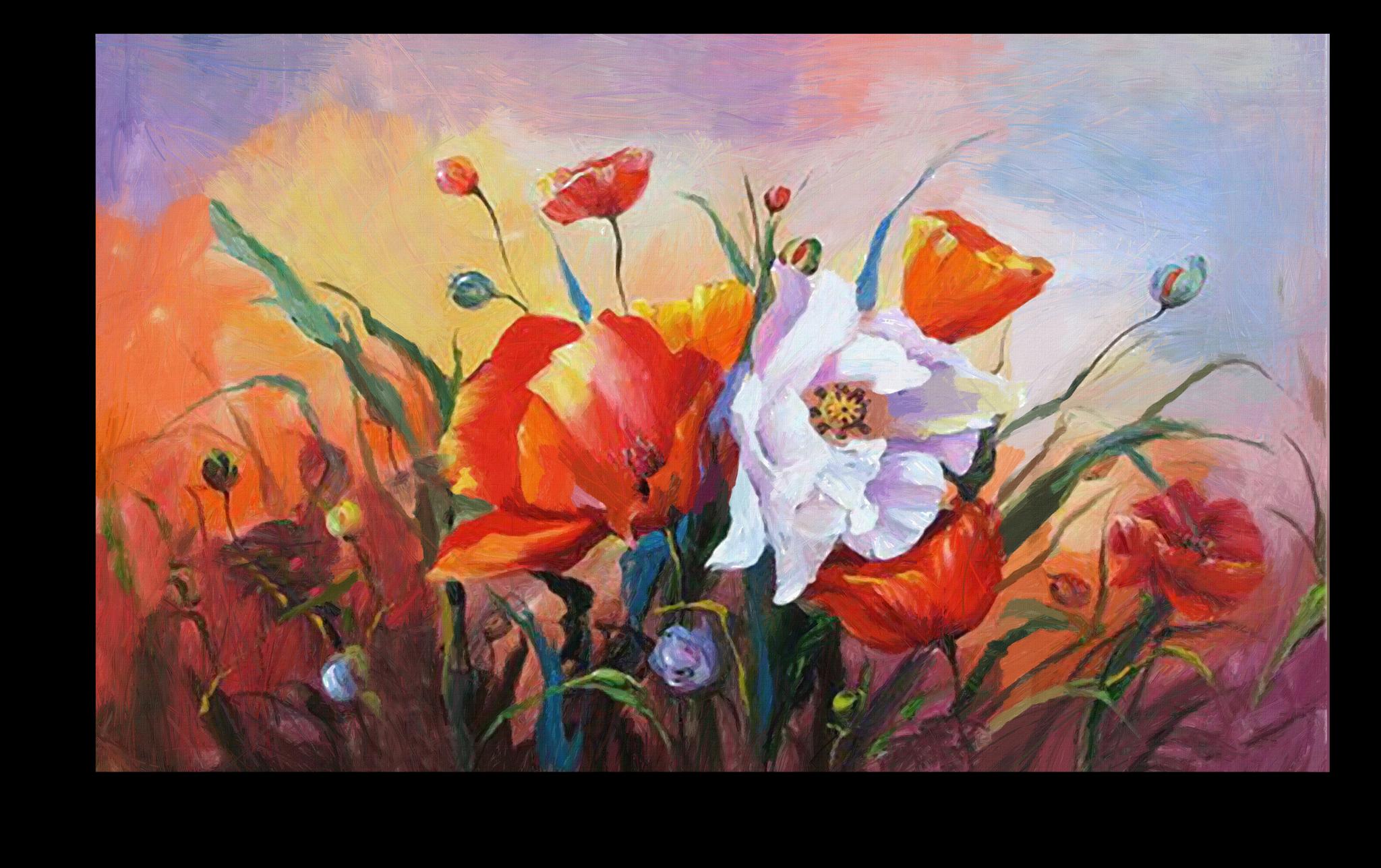 """Постеры Постер """"Полевые цветочки"""" п110.png"""