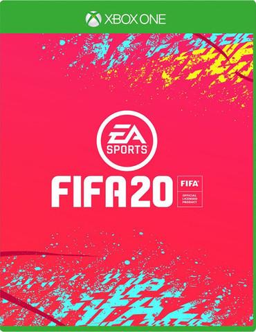 Xbox One Fifa 20 (русская версия)