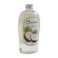 Масло кокосовое, TROPICANA OIL, Organic Cold Pressed Virgin Coconut Oil 100%, 500мл