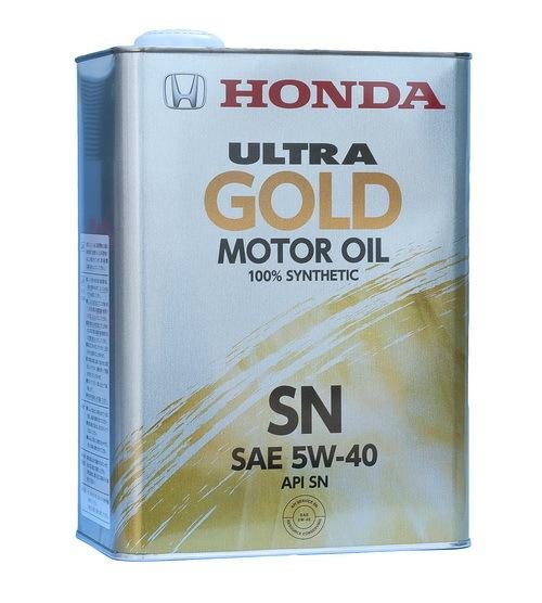 Honda Ultra Gold 5W-40 SN - специальное моторное масло для автомобилей Honda и Acura.