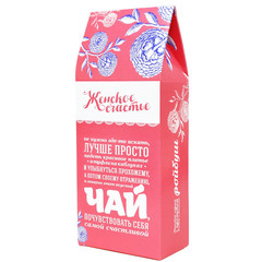 Чай зеленый байховый Бабушкин секрет «Женское счастье»  100 гр.