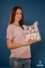 Подушка-игрушка антистресс «Гордый Сиам» 2