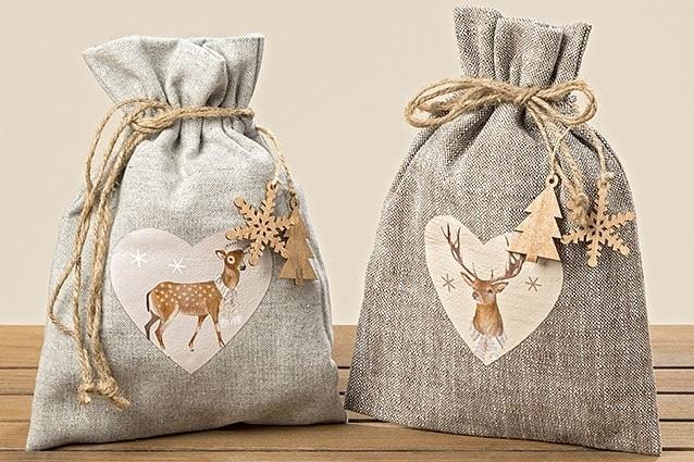 Мешок для новогодних подарков