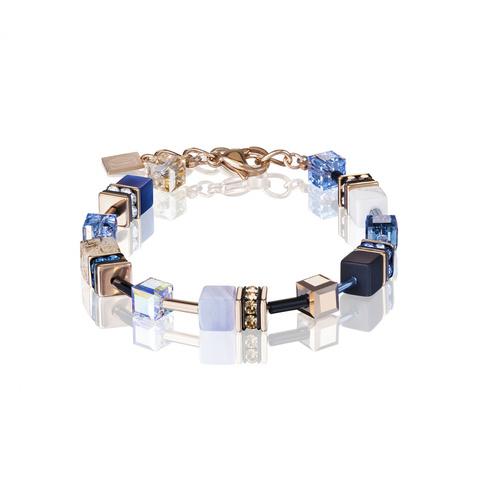 Браслет Coeur de Lion 4905/30-0710 цвет голубой, чёрный
