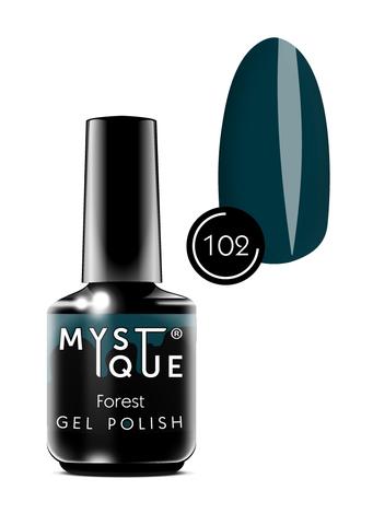 Mystique Гель-лак #102 «Forest» 15 мл