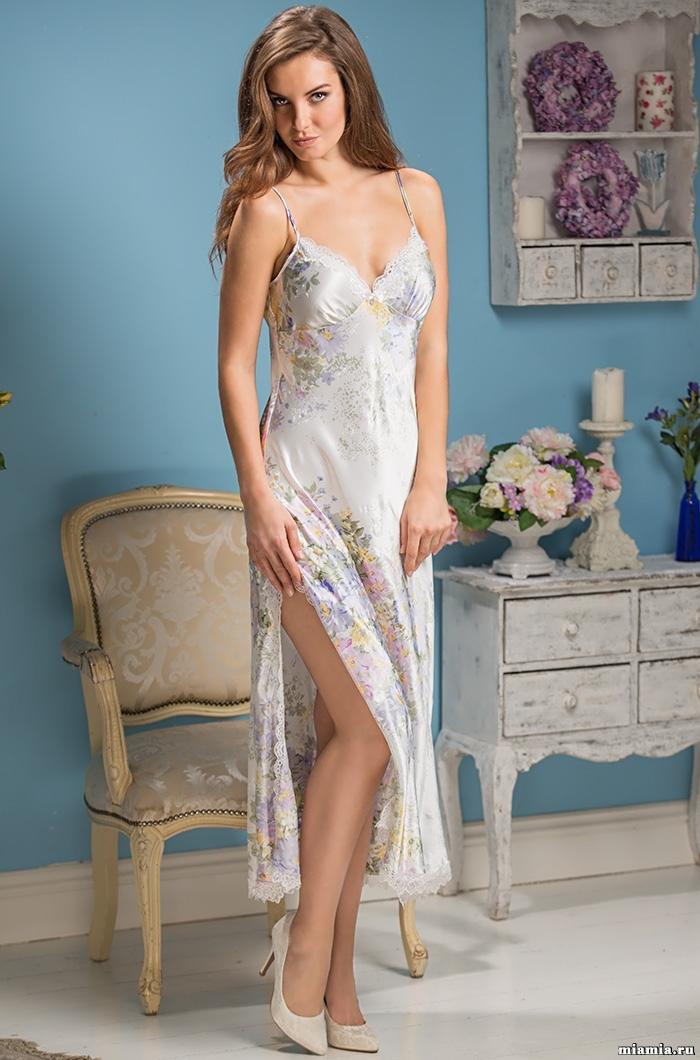 шелк натуральный Сорочка ночная женская шелковая MIA-Amore  Lilianna Лилианна   5996 5996.jpg