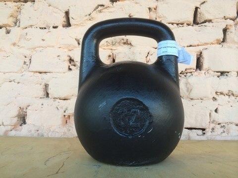 Гиря чугунная любительская 32 кг
