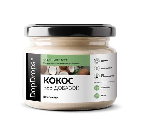 DopDrops Паста Кокосовая Без Добавок 250г