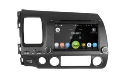 Штатная магнитола на Android 8.0 с DPS для Honda Civic 8 Roximo CarDroid RD-1901D