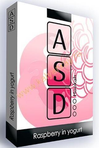 Безникотиновая смесь ASD Hookah - Малина в йогурте