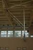 Ферма баскетбольная поднимающаяся к потолку с электроприводом.