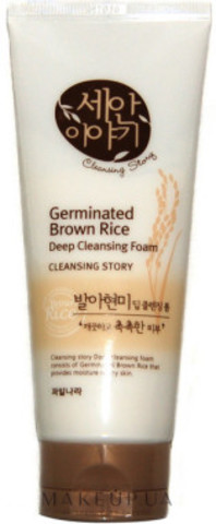 WELCOS Cleansing Story Пенка для умывания Cleansing Story Foam Cleansing (Germinated Brown)120g