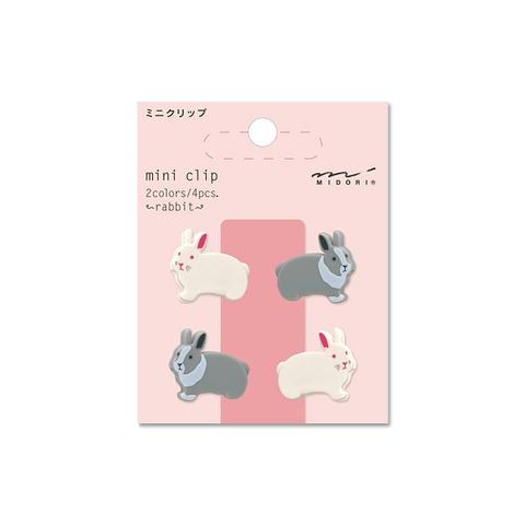 Зажимы Midori Mini Clip - Rabbit