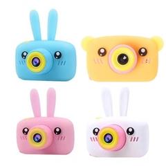 Детскийе цифровые фотоаппараты зайчик и мишка