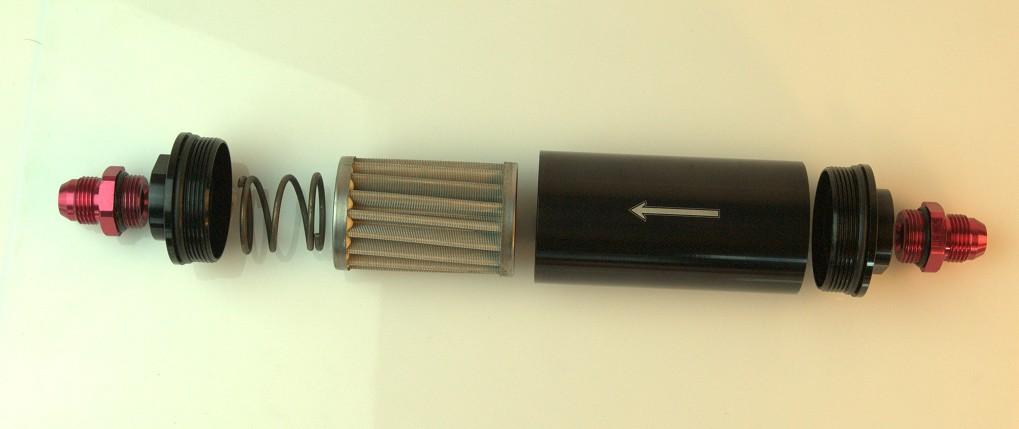 Топливный фильтр AN 8 Fuel Filter