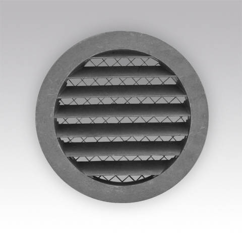 Антивандальная алюминиевая наружная решетка Эра 20 РКМ