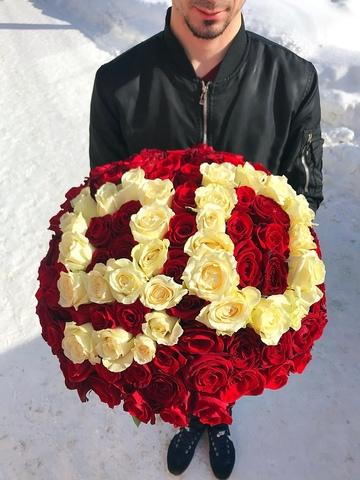 101 роза #14555