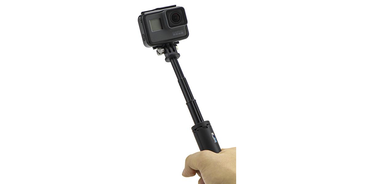 Мини монопод-штатив GoPro Shorty (AFTTM-001) пример использования