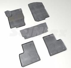 """Резиновые коврики """"Сетка"""" для GLE-Class W166 (с 2015)."""