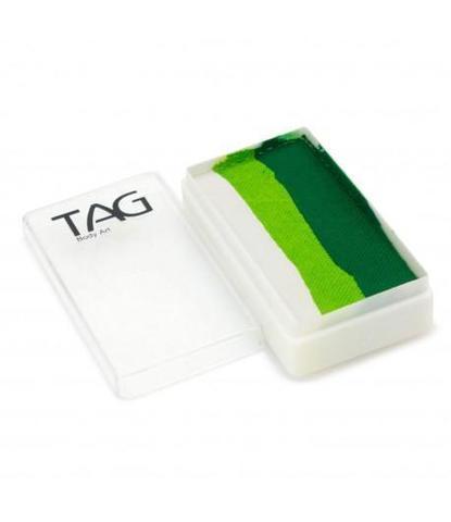Аквагрим TAG 30 гр Сплит-кейк Белые листья