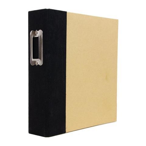 Альбом на кольцах Simple Stories Sn@p! Binder 15х20 см - Black