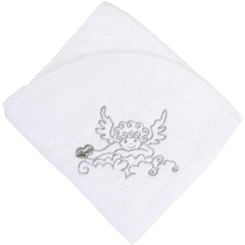 Крыжма полотенце для крещения махровая Ангел на облаке