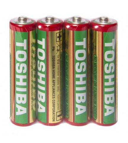 Батарейки Toshiba R03, AAA (4/40/200) BL