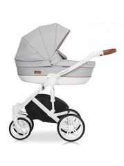 Детская коляска RIKO NATURO 2в1 цвет 01 коричневый-серый