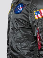 Бомбер Alpha Industries L-2B NASA Gun Metal (Серый)