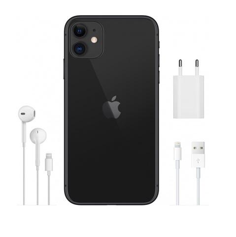 Смартфон Apple iPhone 11 128GB Black (черный)