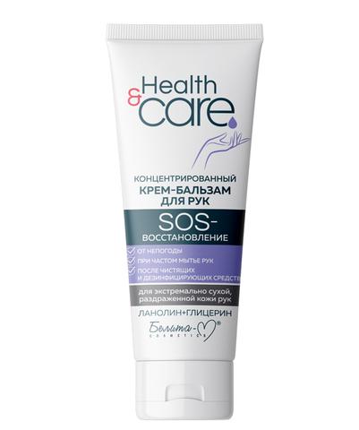 Белита-М Health & Care Концентрированный крем-бальзам для рук SOS-восстановление 60г