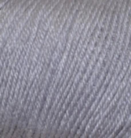 Пряжа Baby wool ( Alize) 119 Серый, фото