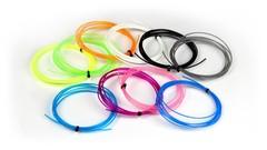 PLA пластик для 3D ручки 100 метров (10 цветов по 10 метров)