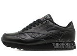 Кроссовки Женские Reebok Classic Leather Premium Black