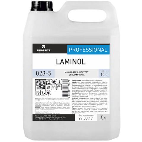Профессиональная химия Pro-Brite Laminol  5 л (023-5), д/ламината