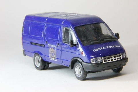 GAZ-2705 Gazelle van Russian Post second facing Agat Mossar Tantal 1:43
