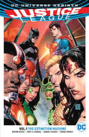 Justice League Vol 1 The Extinction Machines (Rebirth)