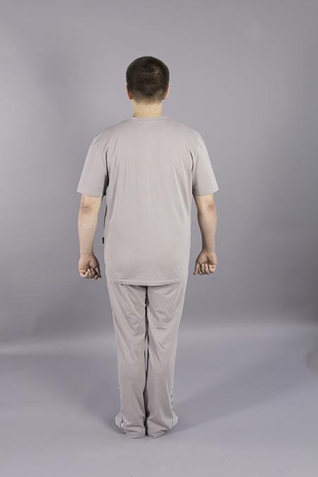 Выкройка мужской футболки для производителей одежда